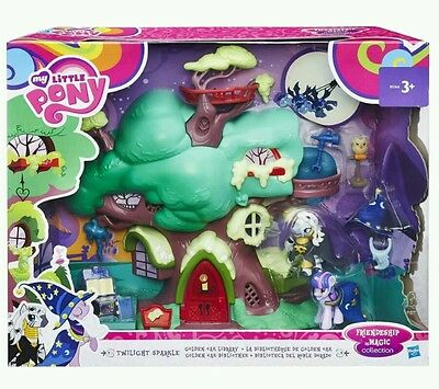 My Little Pony Friendship Is Magic Collection Golden Oak Library PlaySet. New