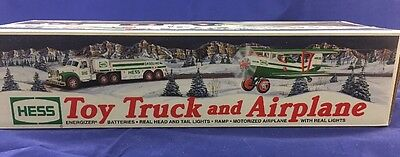 2002 Toy Hess Truck and Airplane - New In The Box