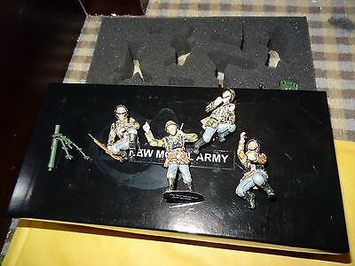 New Model Army - WW2 -Set SS1 - German 8cm Mortar with SS Crew-Limited Edition
