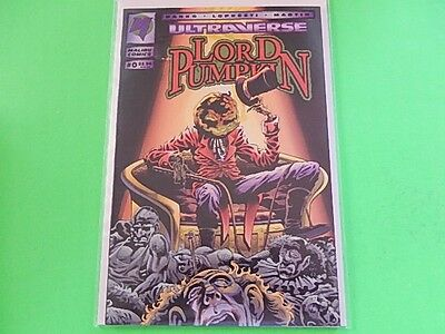Ultraverse Lord Pumpkin Issue #0 Malibu Comics
