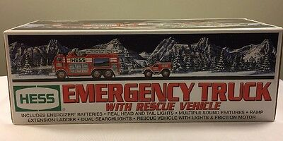 2005 Hess Emergency Truck and Rescue Vehicle --New in Box