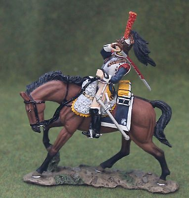 King And Country Na119 Napoleonic French Cuirassier Mounted Toy Soldiers Britain