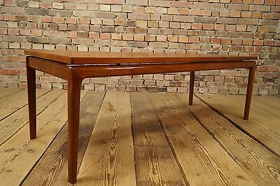 60er bramin teak couchtisch h w klein 60s coffee table danish design vintage eur 350 00. Black Bedroom Furniture Sets. Home Design Ideas