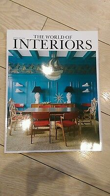The world of Interiors magazines  August 2013