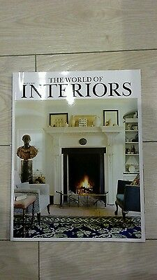 The world of Interiors magazine April 2014