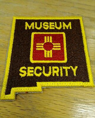 Museum Security Police Patch NM