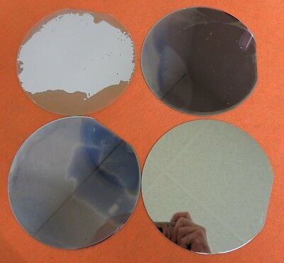 "[LOT 25] 150mm ~6"" Silicon Wafer for Art Projects *burned/discolored* *F4"