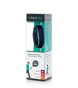 Fitbit Flex Black Fitness Tracker Large & Small Band Included