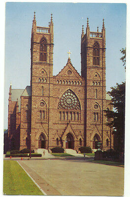 Hartford CT St. Joseph's Cathedral Vintage Postcard  - Connecticut