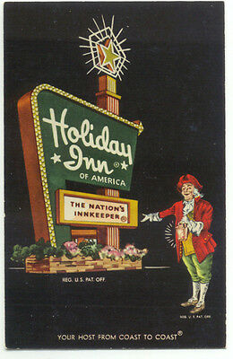 Holiday Inn Sign Of Wexford-Warrendale Mars PA Postcard  - Pennsylvania