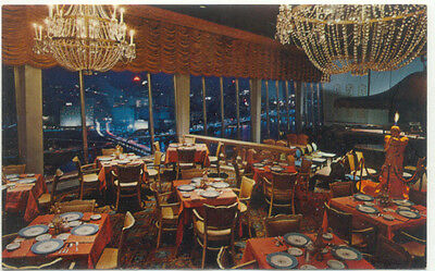Pittsburgh PA Le Mont Top Of The Town Restaurant Postcard - Pennsylvania