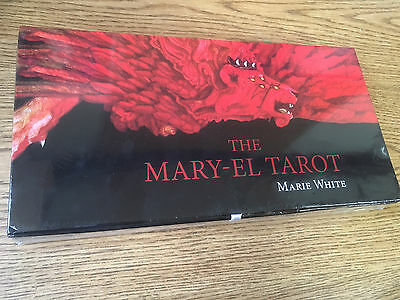 NEW Factory Sealed,The Mary-el Tarot Cards Deck ,Marie White