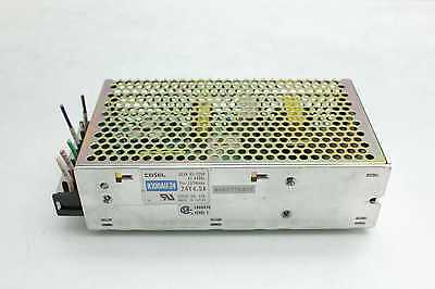 Cosel K100AU-24 Switching Power Supply 24V DC @ 4.5A Output / 137W Max
