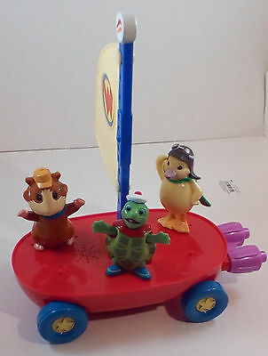Fisher Price Wonder Pets 2010 Flyboat w/ Linny Tuck Ming Ming