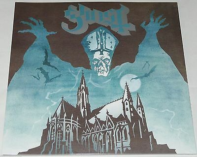 Ghost Opus Eponymous LP Gatefold Black Vinyl Rise Above - Brand New