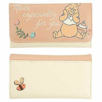 Disney Winnie The Pooh Quote Especially For You Quilted Trifold Flap Wallet NWT
