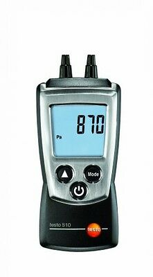 Testo 510 - Differential Pressure Meter 0 to 100 Mbar with Silicon Hose Set