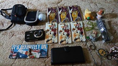 Electronics Lot- 16MP Camera iPhone 6 NBA Phone Cases + Others