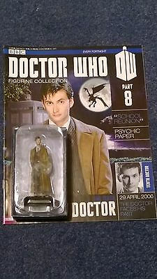 Eaglemoss doctor who figurine collection - Issue 8: THE TENTH DOCTOR