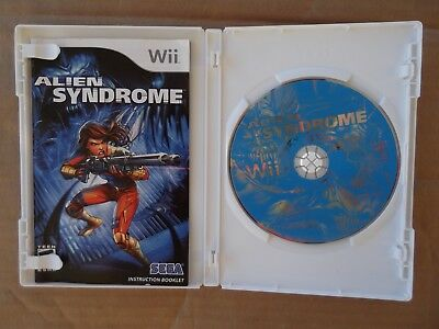 CIB Nintendo Wii Alien Syndrome Action Adventure video game nes ds snes FREESHIP