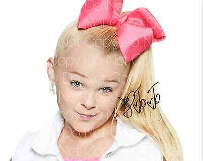 JoJo Siwa 2 signed Dance Moms 8X10 photo picture poster autograph RP