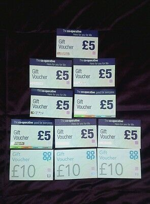 Co-operative Supermarket Grocery Vouchers x £70 No Expiry Date Xmas Christmas