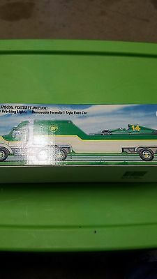 1994 Limited Eition BP Toy Race Car Carrier Car Included MIB