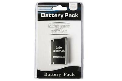 High Quality Replacement Battery Pack for fat Sony PSP console 1000 1003 3600mAh