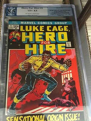 Luke Cage, Hero for Hire #1 PGX 8.5 First appearance of Luke Cage