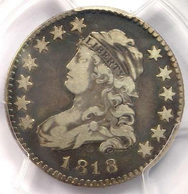 1818 Capped Bust Quarter 25C - PCGS VF Details - Rare Coin - Scarce Date!