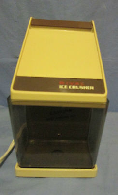 Vintage Electric Beige Rival Ice Crusher