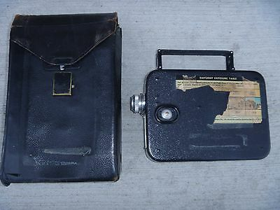 1934? Vintage Cine - Kodak Eight Model ? MOVIE CAMERA, 8mm W/CASE