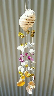 LARGE Shell wind chime - 49 cm long ! Great gift ! Rrp $44.95 hanging decor SALE