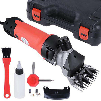 380W Electric Sheep Shears Goat Clipper Animal Grooming 26852