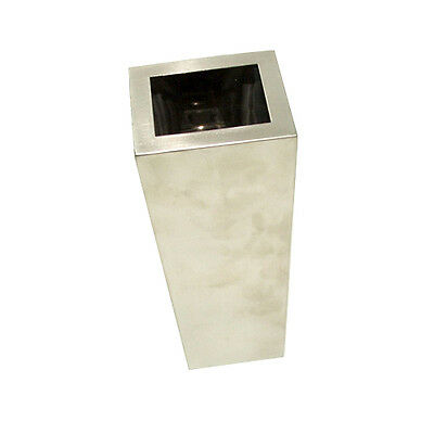 Stainless Steel Modern Vase Flower Planter Pot Container Home Garden