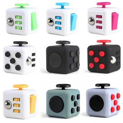 IN STOCK! Fidget Cube 2016 Xmas Children Toy Adults Stress Relief Cubes 11 COLOR