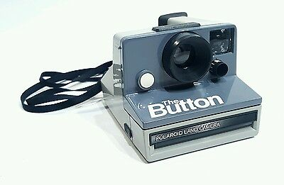 Polaroid The Button Vintage Instant Film Camera Fully Working - Excellent