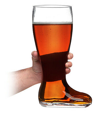 "Das Boot Beer Glass 13"" Tall holds 2.7 Litres **Brand New**  EXPRESS POST"