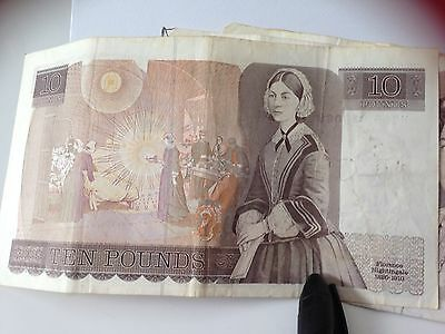 Old £10 Bank Of England Note