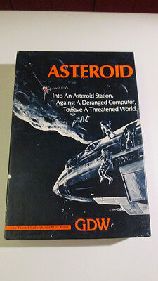 Asteroids Series 120 games GDW unpunched markers complete excellent condition