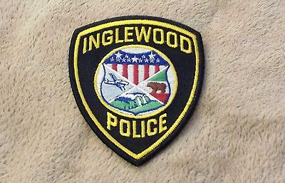 Inglewood California Police Shoulder Patch