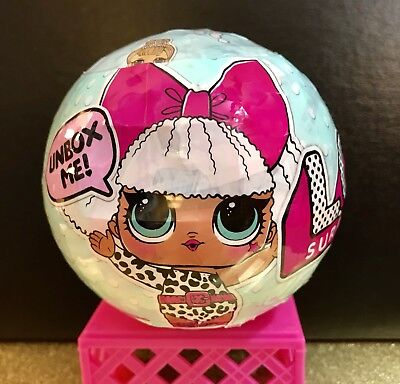 LOL SURPRISE LIL Outrageous Littles Doll Collectible Series 1 BALL L.O.L RETIRED