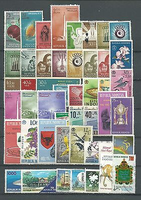 Indonesia, 48 Various, Used