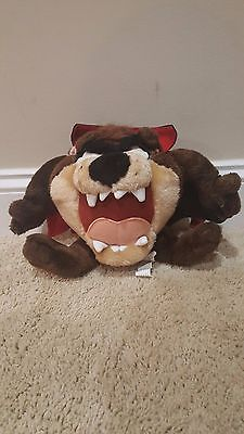 Looney Tunes Taz Tazmanian Devil Plush stuffed Animal Vampire Cape Soft