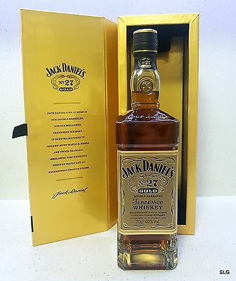 Jack Daniels No.27 Gold Tennessee Whiskey. 70cl 40%. International Release.