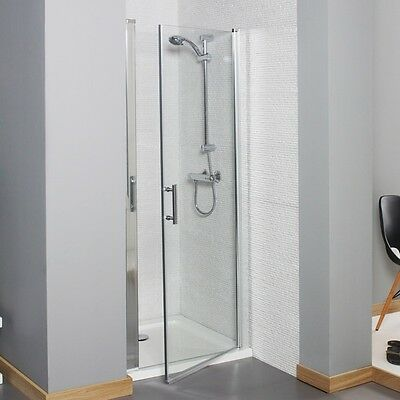 KARTELL KONCEPT 760 x760mm HINGED SHOWER DOOR SHOWER ENCLOSURE WITH TRAY