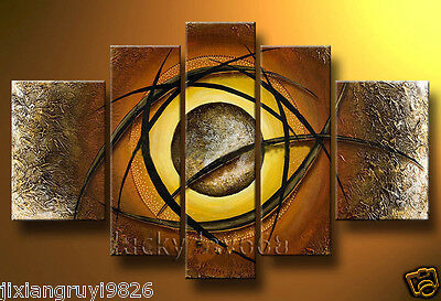 100%Handmade Abstract Modern Art Oil Painting Wall Decor canvas(NO Frame)