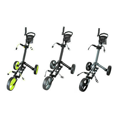 Glide-Tek 6.0 3 Wheel Deluxe Golf Trolley - Various Colours - New.