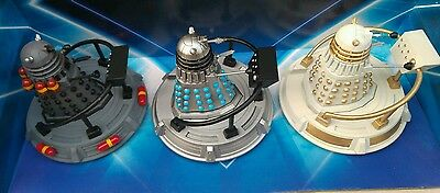 "Doctor Who 3.75""  Dalek  & Hoverbout  Custom Set Two"