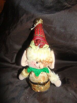 """6"""" Plush Christmas Elf with Bell"""